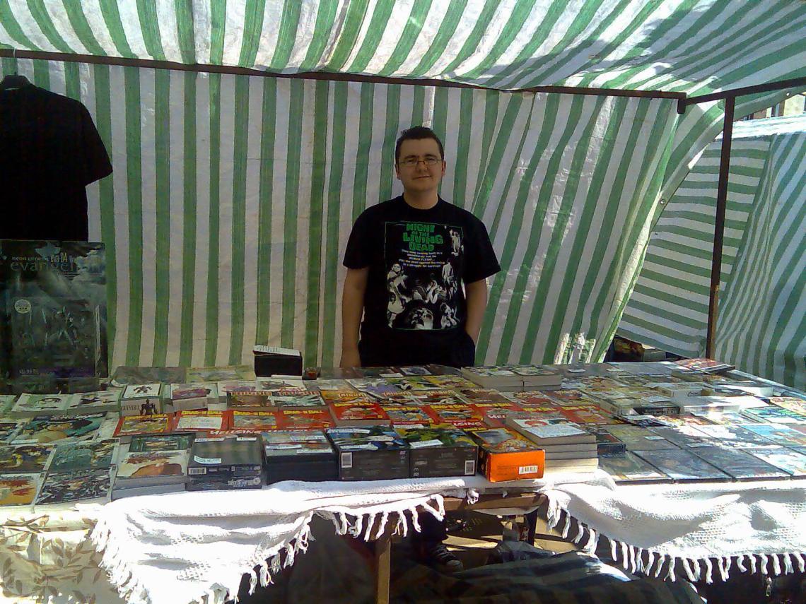 Craig's lovely stall