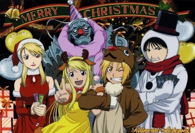 Marry Anime Christmas | Anime Amino for Anime Christmas Cards